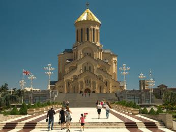 Pravoslavná katedrála Nejsvětější Trojice vTbilisi