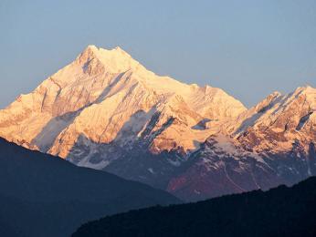 Kančendženga je nejvyšší hora Indie