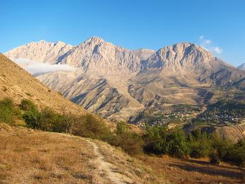 Íránské pohoří Elborz