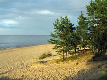 Písečné pláže Baltského moře