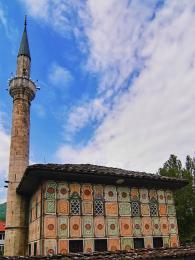 Malovaná mešita zroku 1459 ve městě Tetovo