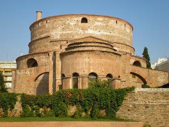 Soluňská rotunda je nejstarší kostel ve městě pocházející ze 4. století