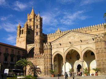 Katedrála v hlavním městě Palermu