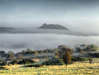 Pro skotské klima jsou typické mlhy husté jako smetana