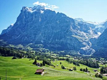 Údolí Bernských Alp