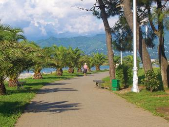 Pobřežní promenáda Batumis bulvari