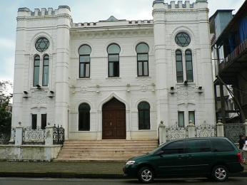 Nově zařízená a znovu otevřená synagoga vBatumi