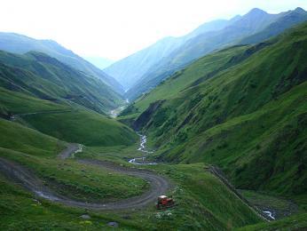 Údolí v Chevsureti