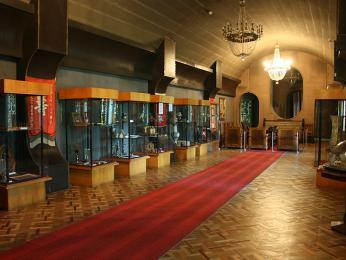 Interiér Stalinova muzea vGori