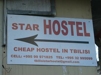Pouze v Tbilisi je na výběr zhostelů