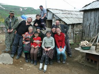 Na návštěvě u pastevců