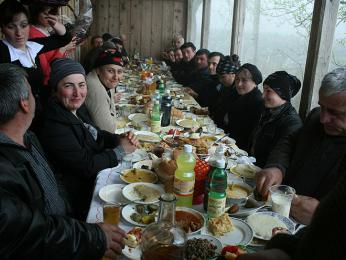 Gruzínská oslava