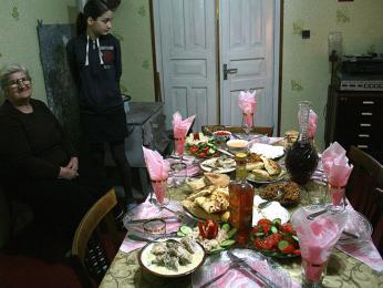 Tabule na rodinnou oslavu