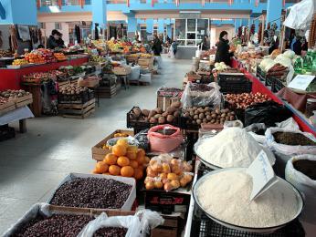 Krytý trh vOzurgeti