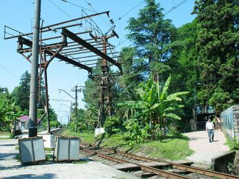 Železnice u Batumi