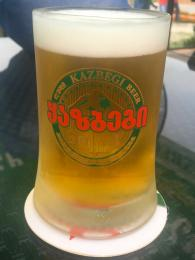 Mezi oblíbené gruzínské pivovary patří třeba Kazbegi zTbilisi