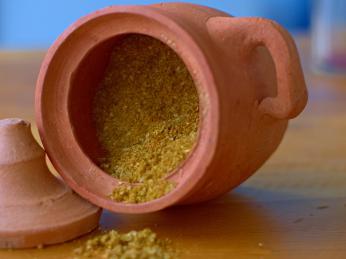 Ve svanetské soli najdeme koriandr, česnek, pískavici, papriku, měsíček,kopr