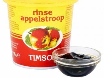 Pomalým vařením jablek se cidrem vznikne jablečné máslo appelstroop