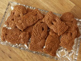 Máslové sušenky speculaas se dříve vyráběli na svatého Mikuláše aVánoce