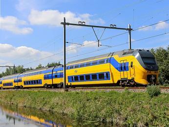 Vlak společnosti Nederlandse spoorwegen