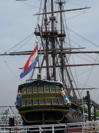 Loď z doby zámořských kolonií