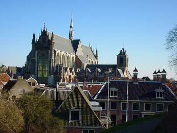 Kostel Hooglandse v Leidenu