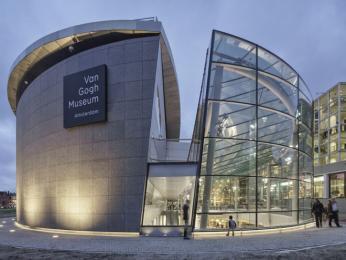 Nová budova muzea Vincenta vanGogha
