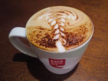 Káva z indického řetězce Café Coffee Day