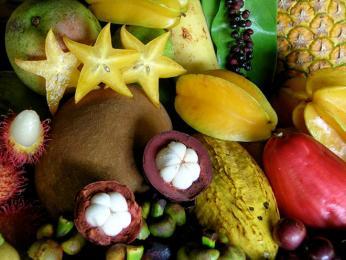 V Indii roste exotické ovoce nejrůznějších barev i tvarů