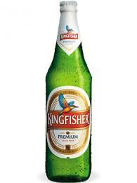 Populární indické pivo Kingfisher