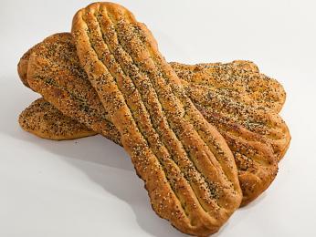 Barbari - světlý chléb oválného tvaru