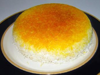 Tahdig je specialita perské kuchyně