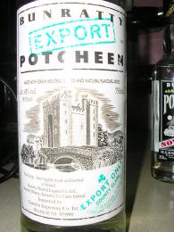 Potcheen - irský podomácku vyráběný destilát