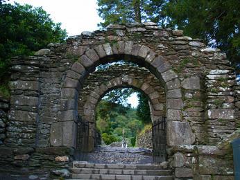 Gatehouse – vstupní brána do klášterního komplexu