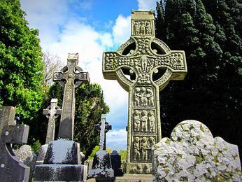 V Monasterboice nalezneme jedny znejvzácnějších keltských křížů v Irsku