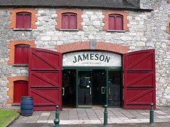 Palírna whiskey Jameson založená roku1780