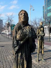 Památka obětem Velkého irského hladomoru