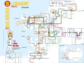 Autobusové linky vRejkjavíku