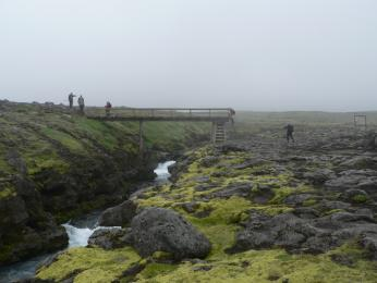 Krajina pod sopkou Eyjafjallajökull