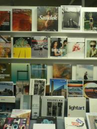Výloha reykjavíckého knihkupectví