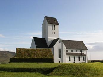 Bývalé biskupské sídlo Skálholt