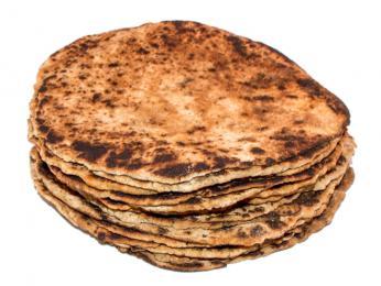 Na kameni pečené chlebové placky flatkökur chutnají trochu uzeně apo kouři