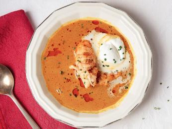 Výborná humří polévka