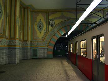 Historické metro Tünel