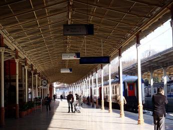 Hlavní evropské vlakové nádraží Şirkeçi