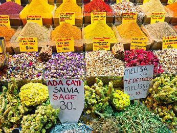 Obchod na Egyptském bazaru