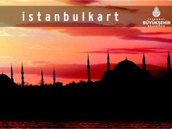 Univerzální Istanbulkart lze použít na placení veškeré hromadné dopravy