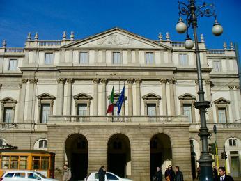 Teatro alla Scala vMiláně