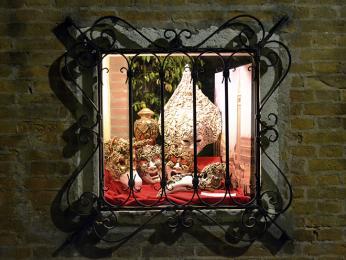 Obchod skarnevalovými maskami, Benátky