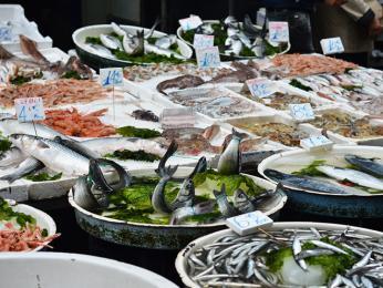 Rybí trh vNeapoli